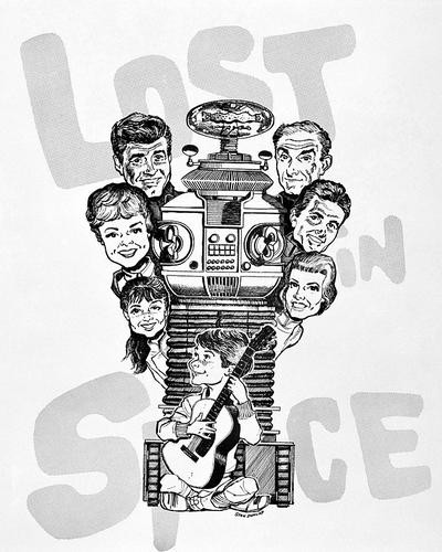 This is an image of Photograph & Poster of Lost in Space 195748