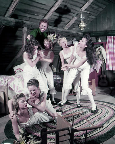 This is an image of Photograph & Poster of Seven Brides for Seven Brothers 286128