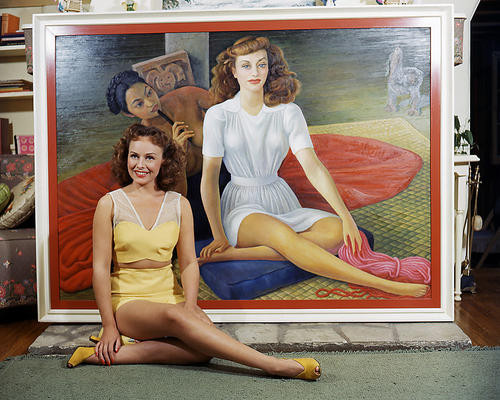 This is an image of Photograph & Poster of Paulette Goddard 286352