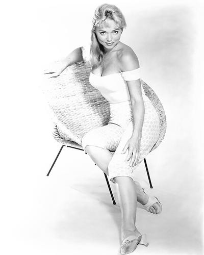 This is an image of Photograph & Poster of Yvette Vickers 196440