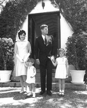 This is an image of Photograph & Poster of John F.Kennedy and Jackie Kennedy 196189