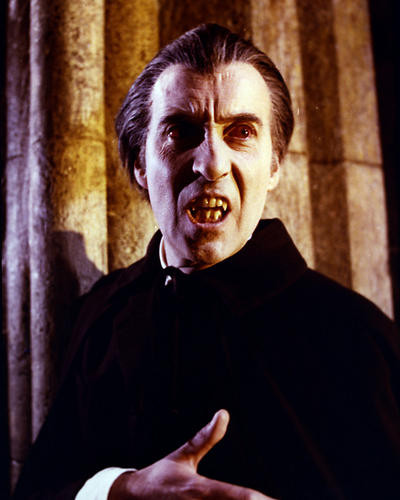 This is an image of Photograph & Poster of Christopher Lee 286569
