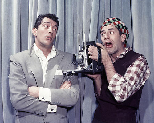 This is an image of Photograph & Poster of Dean Martin and Jerry Lewis 287250