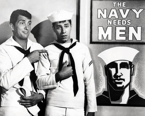 This is an image of Photograph & Poster of Dean Martin and Jerry Lewis 196914