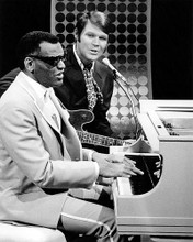 This is an image of Photograph & Poster of Ray Charles and Glen Campbell 196991