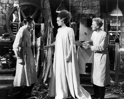 This is an image of Photograph & Poster of Bride of Frankenstein 198258