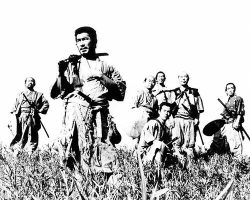 This is an image of Photograph & Poster of Seven Samurai 198878