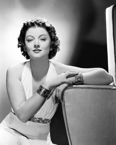 This is an image of Photograph & Poster of Myrna Loy 198915