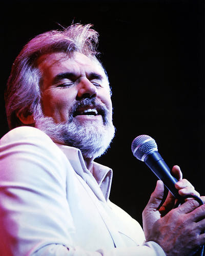 This is an image of Photograph & Poster of Kenny Rogers 290522