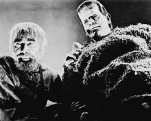 This is an image of 168967 Boris Karloff & Bela Lugosi Photograph & Poster
