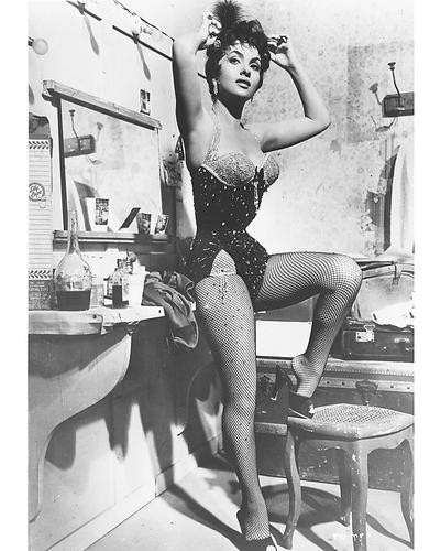 This is an image of 171447 Gina Lollobrigida Photograph & Poster