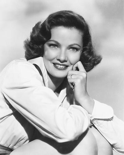 This is an image of 171691 Gene Tierney Photograph & Poster