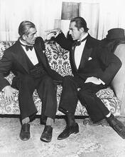 This is an image of 171717 Boris Karloff & Bela Lugosi Photograph & Poster