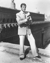 This is an image of 172014 Roger Moore Photograph & Poster