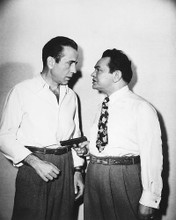 This is an image of 172272 Humphrey Bogart & Edward G Robinson Photograph & Poster