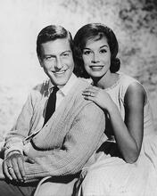 This is an image of 172339 Dick Van Dyke & Mary Tyler Moore Photograph & Poster