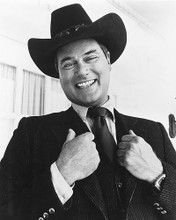 This is an image of 172673 Larry Hagman Photograph & Poster