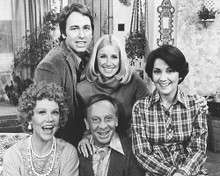 This is an image of 172819 Three's Company Photograph & Poster