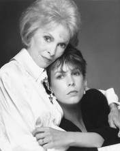 This is an image of 174093 Jamie Lee Curtis and Janet Leigh Photograph & Poster