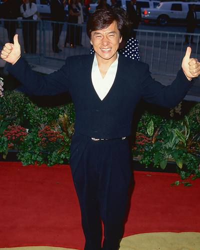 This is an image of 219454 Jackie Chan Photograph & Poster