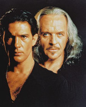 This is an image of 238000 Anthony Hopkins & Antonio Banderas Photograph & Poster