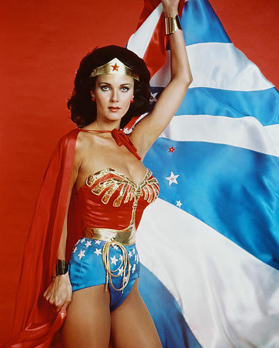 This is an image of 243304 Lynda Carter Photograph & Poster