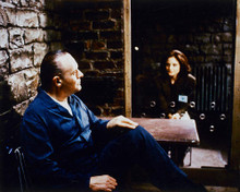 This is an image of 248324 The Silence of the Lambs Photograph & Poster