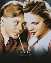 This is an image of 250207 Judy Garland & Mickey Rooney Photograph & Poster