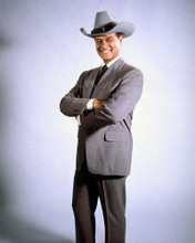 This is an image of 250224 Larry Hagman Photograph & Poster