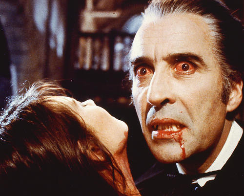 This is an image of 254544 Christopher Lee Photograph & Poster