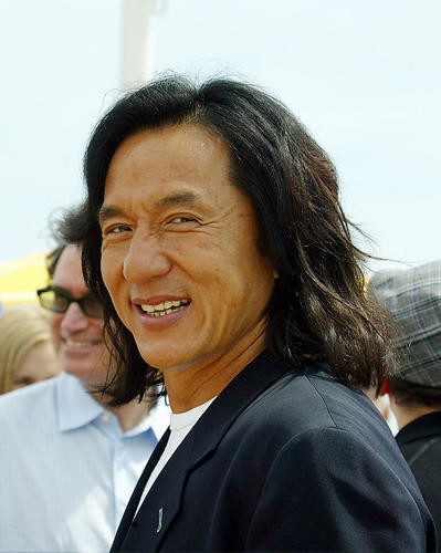 This is an image of 255879 Jackie Chan Photograph & Poster