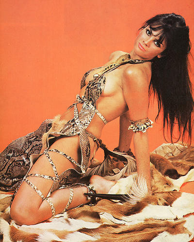 This is an image of 258297 Caroline Munro Photograph & Poster