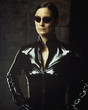 This is an image of 258664 Carrie-Anne Moss Photograph & Poster