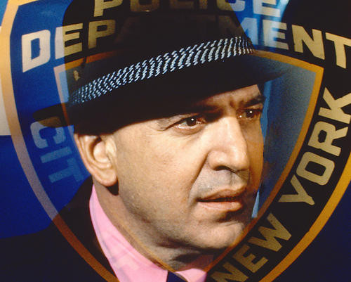 This is an image of 261601 Telly Savalas Photograph & Poster