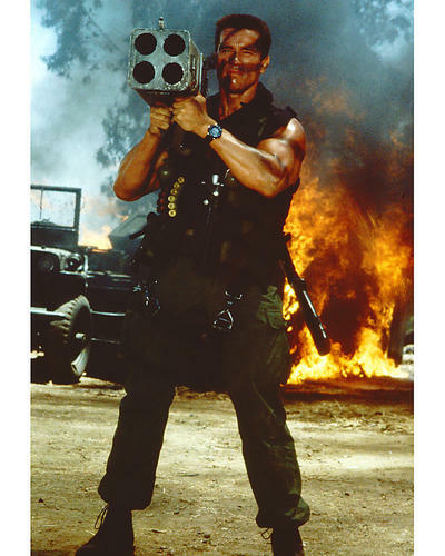 This is an image of 264130 Arnold Schwarzenegger Photograph & Poster