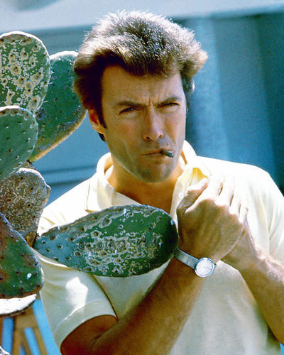 This is an image of 264844 Clint Eastwood Photograph & Poster