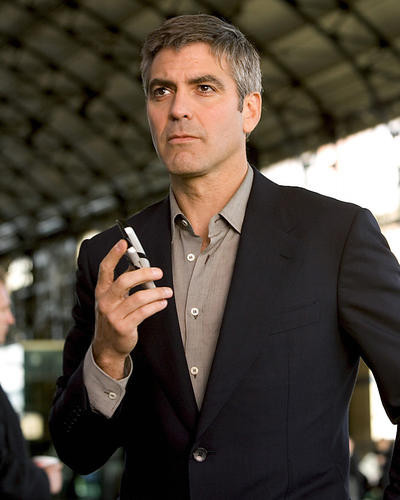 This is an image of 265797 George Clooney Photograph & Poster