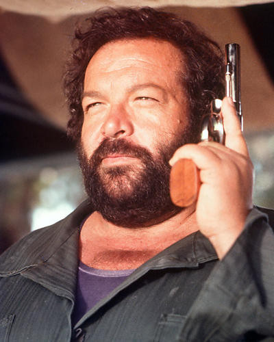 This is an image of 267128 Bud Spencer Photograph & Poster