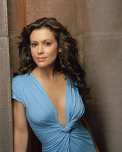 This is an image of 269159 Alyssa Milano Photograph & Poster