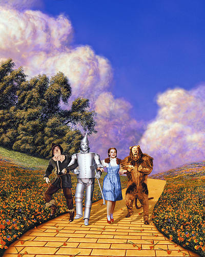 This is an image of 269396 The Wizard of Oz Photograph & Poster
