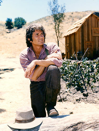 This is an image of 269717 Michael Landon Photograph & Poster