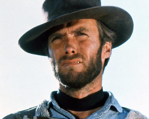 This is an image of 281150 Clint Eastwood Photograph & Poster