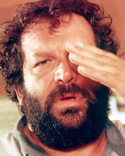 This is an image of 278228 Bud Spencer Photograph & Poster