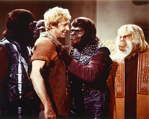 This is an image of 282507 Planet of the Apes Photograph & Poster