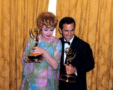 This is an image of 282785 Don Adams and Lucille Ball Photograph & Poster