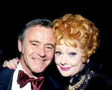 This is an image of 282814 Jack Lemmon and Lucille Ball Photograph & Poster