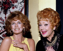 This is an image of 282815 Ann-Margret and Lucille Ball Photograph & Poster