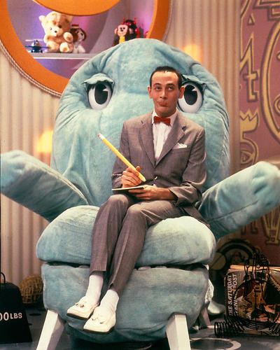 This is an image of 280625 Pee-Wee's Playhouse Photograph & Poster