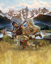 This is an image of 287467 the Mountain Men Photograph & Poster