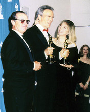 This is an image of 291712 Clint Eastwood and Barbra Streisand Photograph & Poster